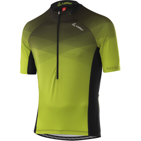 Löffler hotBOND RF Half-Zip Bike Jersey Men, geel